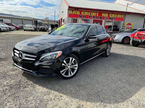 2015 Mercedes-Benz C-Class for sale at Yaktown Motors in Union Gap WA