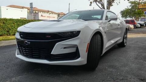 2019 Chevrolet Camaro for sale at AUTO BENZ USA in Fort Lauderdale FL