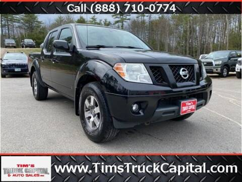2011 Nissan Frontier for sale at TTC AUTO OUTLET/TIM'S TRUCK CAPITAL & AUTO SALES INC ANNEX in Epsom NH