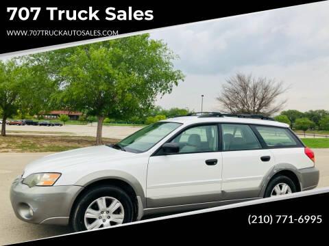 2005 Subaru Outback for sale at 707 Truck Sales in San Antonio TX