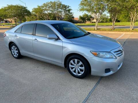 2010 Toyota Camry for sale at Pitt Stop Detail & Auto Sales in College Station TX