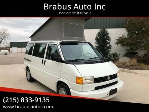 1993 Volkswagen EuroVan for sale at Car Time in Philadelphia PA