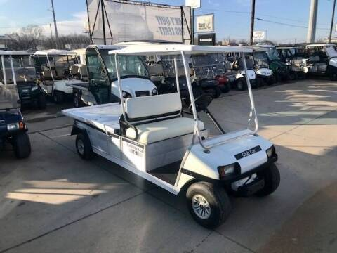 2008 Club Car Carryall 6 Flatbed Electric for sale at METRO GOLF CARS INC in Fort Worth TX