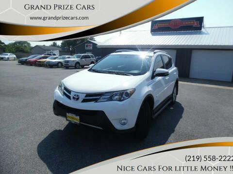 2013 Toyota RAV4 for sale at Grand Prize Cars in Cedar Lake IN