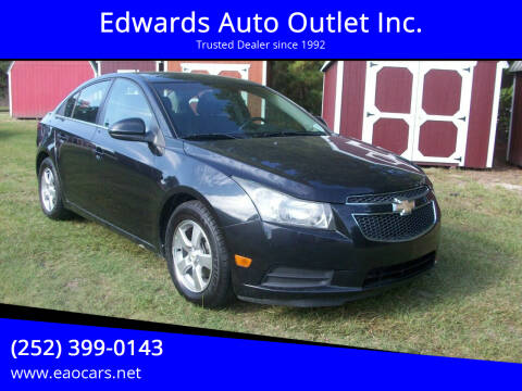 2011 Chevrolet Cruze for sale at Edwards Auto Outlet Inc. in Wilson NC