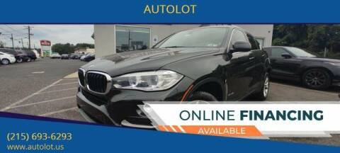 2015 BMW X6 for sale at AUTOLOT in Bristol PA