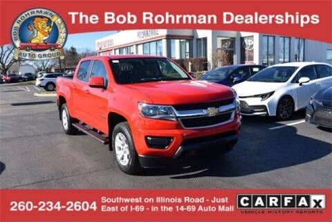 2018 Chevrolet Colorado for sale at BOB ROHRMAN FORT WAYNE TOYOTA in Fort Wayne IN