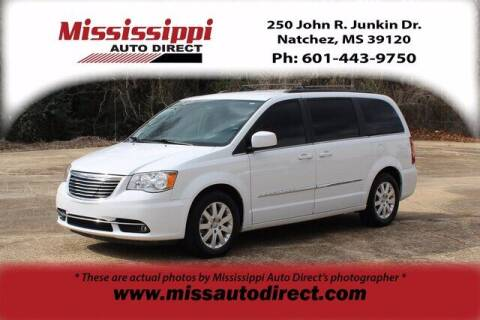 2016 Chrysler Town and Country for sale at Auto Group South - Mississippi Auto Direct in Natchez MS