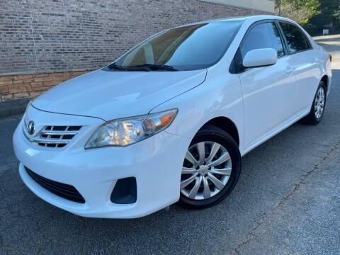 2013 Toyota Corolla for sale at Gwinnett Luxury Motors in Buford GA