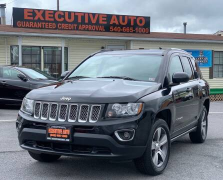 2017 Jeep Compass for sale at Executive Auto in Winchester VA