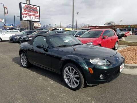 2008 Mazda MX-5 Miata for sale at ATLAS MOTORS INC in Salt Lake City UT