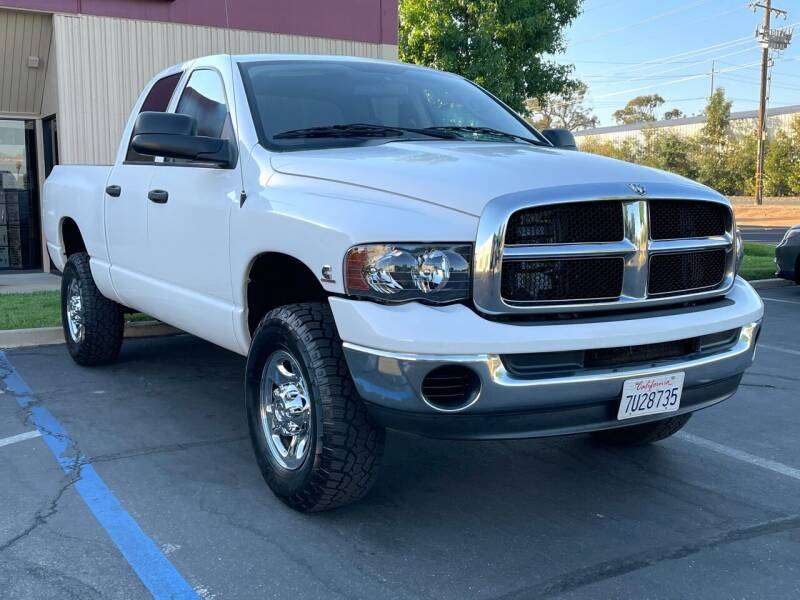 2004 Dodge Ram Pickup 2500 for sale at COUNTY AUTO SALES in Rocklin CA