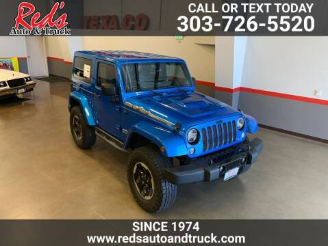 2014 Jeep Wrangler for sale at Red's Auto and Truck in Longmont CO