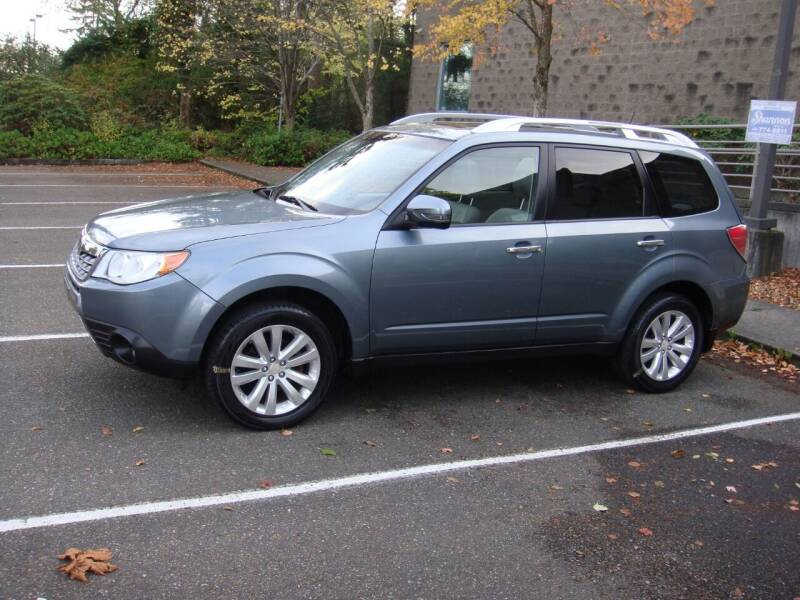 2011 Subaru Forester for sale at Western Auto Brokers in Lynnwood WA