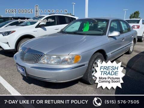 1999 Lincoln Continental for sale at Fort Dodge Ford Lincoln Toyota in Fort Dodge IA