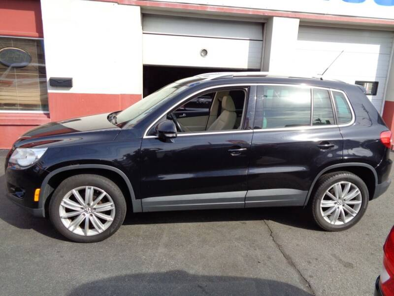 2011 Volkswagen Tiguan for sale at Best Choice Auto Sales Inc in New Bedford MA