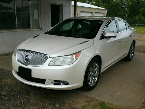 2010 Buick LaCrosse for sale at Doug Kramer Auto Sales in Longview TX