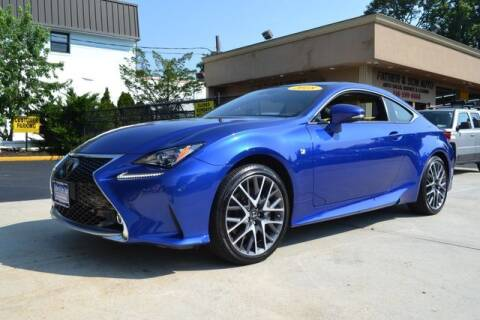 2018 Lexus RC 300 for sale at Father and Son Auto Lynbrook in Lynbrook NY