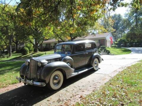 1938 Packard Super 8 for sale at Classic Car Deals in Cadillac MI