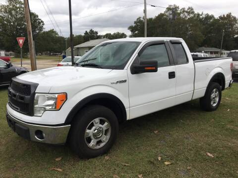 2011 Ford F-150 for sale at LAURINBURG AUTO SALES in Laurinburg NC