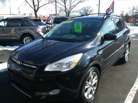 2013 Ford Escape for sale at Oak Hill Auto Sales of Wooster, LLC in Wooster OH