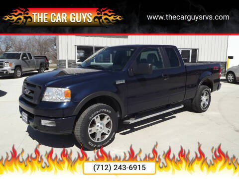 2005 Ford F-150 for sale at The Car Guys in Atlantic IA