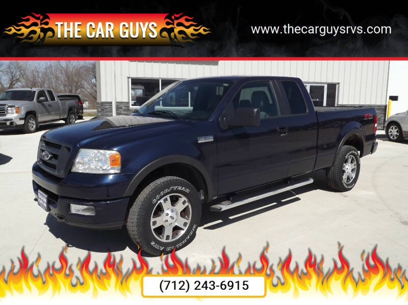 2005 Ford F-150 for sale at The Car Guys RV & Auto in Atlantic IA