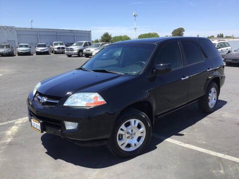 2002 Acura MDX for sale at My Three Sons Auto Sales in Sacramento CA