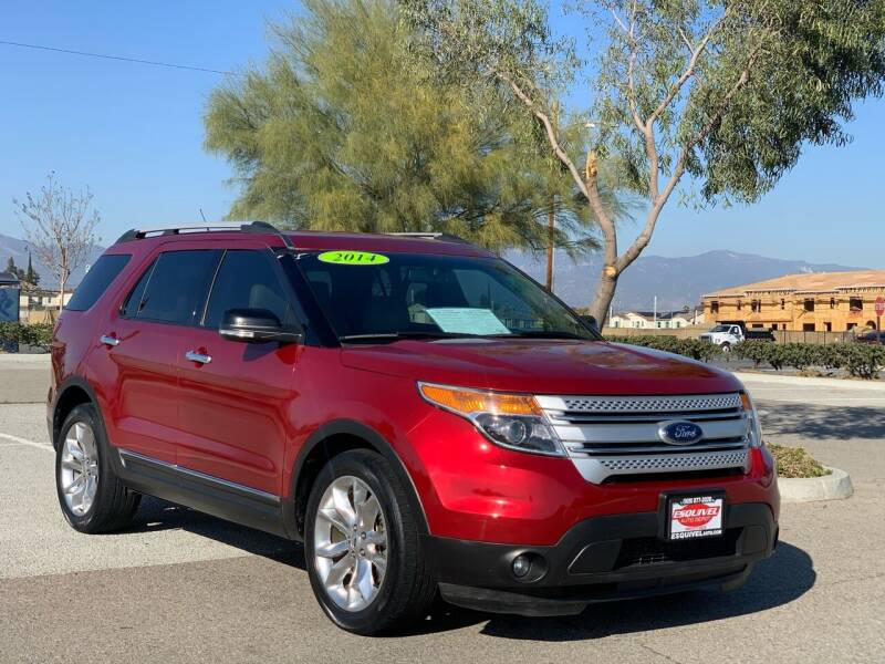 2014 Ford Explorer for sale at Esquivel Auto Depot in Rialto CA