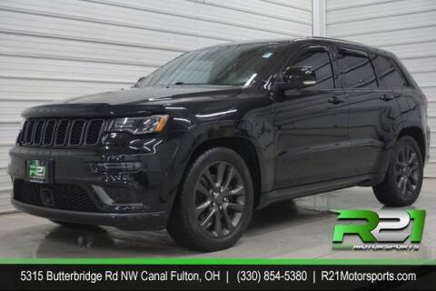 2018 Jeep Grand Cherokee for sale at Route 21 Auto Sales in Canal Fulton OH