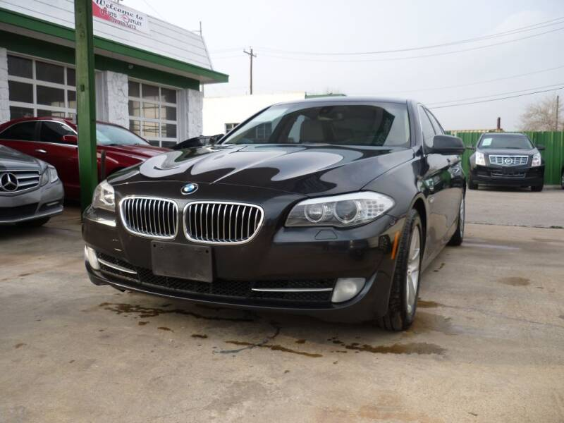 2012 BMW 5 Series for sale at Auto Outlet Inc. in Houston TX