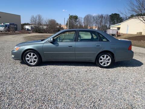 2002 Toyota Avalon for sale at MEEK MOTORS in North Chesterfield VA
