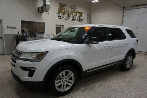 2018 Ford Explorer for sale at Elite Auto Sales in Ammon ID