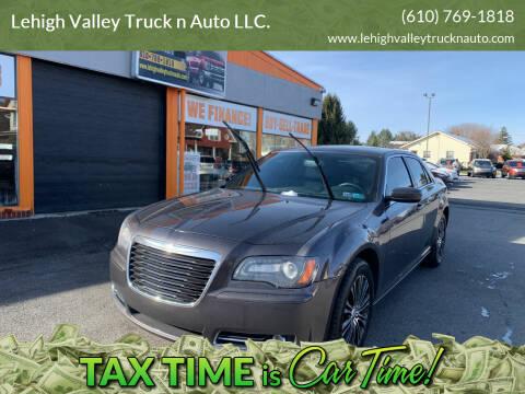 2014 Chrysler 300 for sale at Lehigh Valley Truck n Auto LLC. in Schnecksville PA
