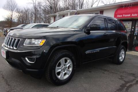 2014 Jeep Grand Cherokee for sale at Dave Franek Automotive in Wantage NJ