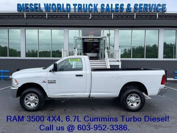 2016 RAM Ram Pickup 3500 for sale at Diesel World Truck Sales in Plaistow NH