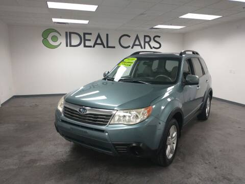 2010 Subaru Forester for sale at Ideal Cars in Mesa AZ