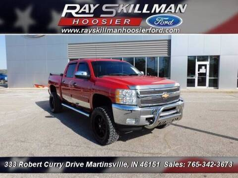 2012 Chevrolet Silverado 1500 for sale at Ray Skillman Hoosier Ford in Martinsville IN