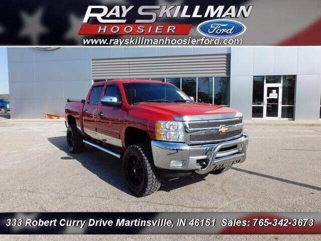 2012 Chevrolet Silverado 1500 for sale at Ray Skillman Hoosier Ford in Martinsville IN