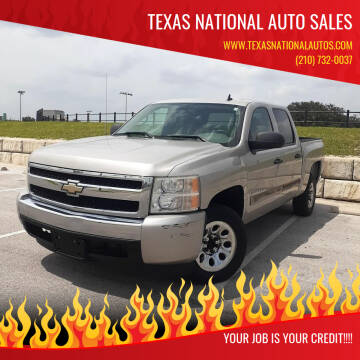 2007 Chevrolet Silverado 1500 for sale at Texas National Auto Sales in San Antonio TX