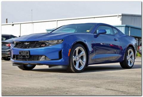 2021 Chevrolet Camaro for sale at STRICKLAND AUTO GROUP INC in Ahoskie NC