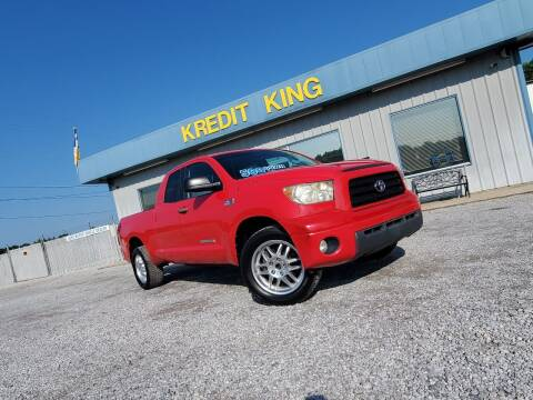 2007 Toyota Tundra for sale at Kredit King Autos in Montgomery AL