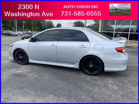 2012 Toyota Corolla for sale at Auto Vision Inc. in Brownsville TN