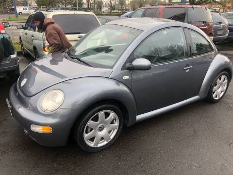 2002 Volkswagen New Beetle for sale at Blue Line Auto Group in Portland OR