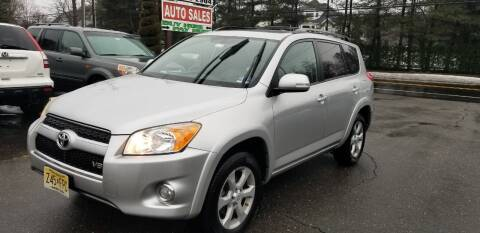 2012 Toyota RAV4 for sale at Central Jersey Auto Trading in Jackson NJ