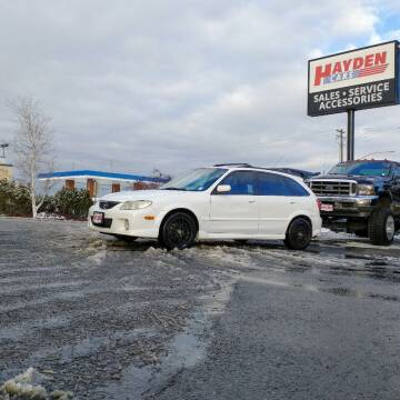 2002 Mazda Protege5 for sale at Hayden Cars in Coeur D Alene ID