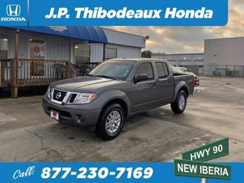 2018 Nissan Frontier for sale at J P Thibodeaux Used Cars in New Iberia LA