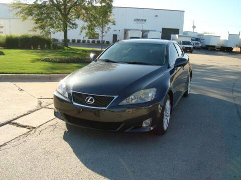 2008 Lexus IS 250 for sale at ARIANA MOTORS INC in Addison IL