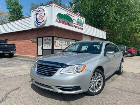 2012 Chrysler 200 for sale at GMA Automotive Wholesale in Toledo OH