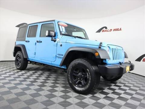 2017 Jeep Wrangler Unlimited for sale at Bald Hill Kia in Warwick RI